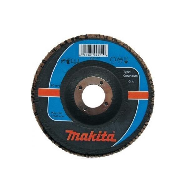 lamellás csiszoló acél 125mm k40 (makita p-65171)