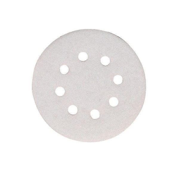 excenterpapír tépőz. fehér 125mm k80 10db/csomag (makita p-33364)