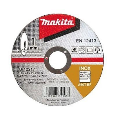 vágókorong inox 115x1mm (makita b-12217)