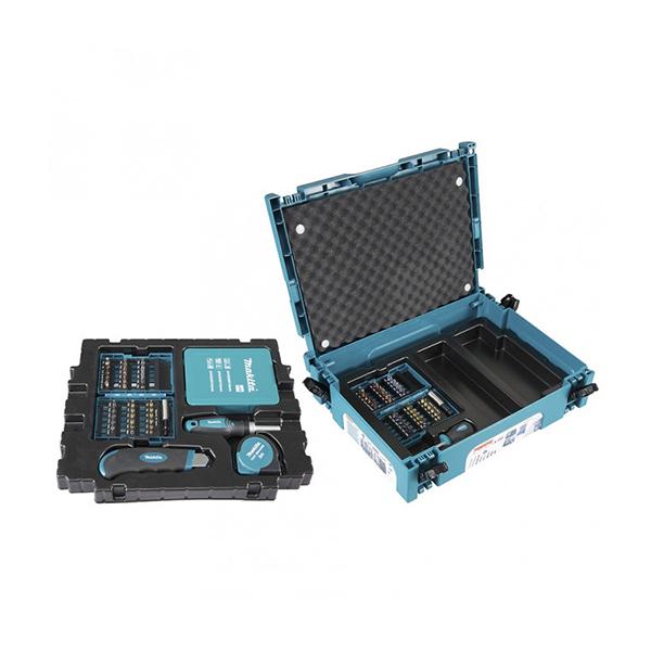 96db-os fúró-csavarbehajtó készlet makpac kofferben (makita b-49725)