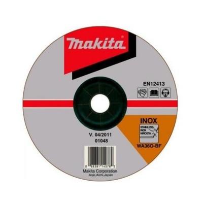 csiszolótárcsa inox 230x6mm (makita a-80896)