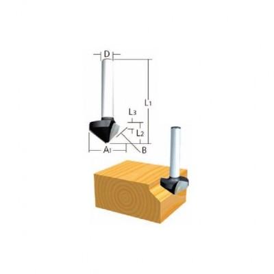 kerekítő kés, befogó: 8 átmérő: 17,3 rádiusz: 2,3 (makita d-48480)