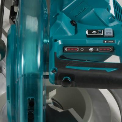 makita dls111zu akkus gérvágó 260mm 2x18v (lxt) (bl motor) (bluetooth) (adt) (dxt) akku és töltő nélkül