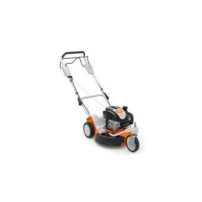 stihl rm 3 rt különösen mozgékony, 48 cm munkaszélességű benzinmotoros fűnyíró gép, fix sebességű kerékhajtással