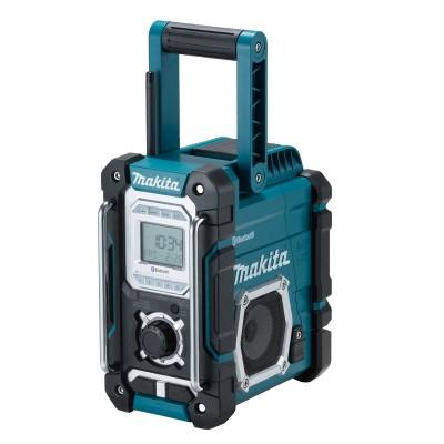 makita dmr108 akkus és hálózati rádió (lxt) (cxt) (bluetooth) 18v/1x2.0ah akkuval (lxt), töltővel