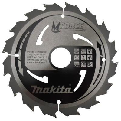 körfűrészlap mforce 165/20mm z10 (makita b-07886)