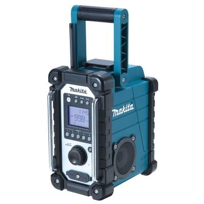 makita dmr107 akkus és hálózati rádió (lxt) (cxt) 1db 18v/2.0ah-s akkuval (lxt) + töltő