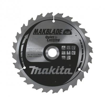 körfűrészlap makblade plus fához 260/30mm z100 (makita b-08800)