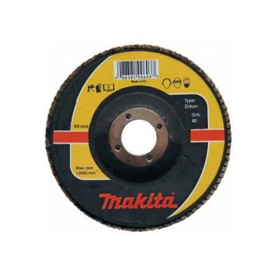 lamellás csiszoló inox 125mm k80 (makita p-65517)