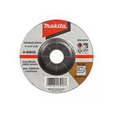 csiszolótárcsa inox 125x6mm (makita a-80656)
