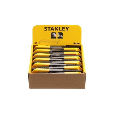 stanley műanyagházas tördelhető pengés kés 9mm (1-10-150)