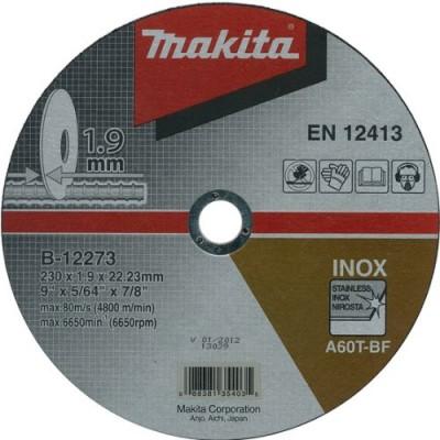 vágókorong inox 230x1,9mm (makita b-12273)