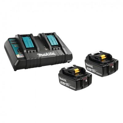 makita dhs783t2ju akkus körfűrész 190mm (lxt) (bl motor) (bluetooth) 2x18v/2x5.0ah, akkukkal, töltővel, makpack kofferrel