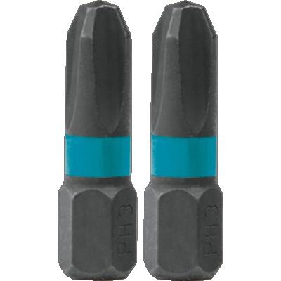 impact black csavarbehajtó bit ph3 25mm (makita b-63622)