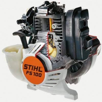 stihl fs 91 r erős motoros kasza 4-mix motorral, körfogantyúval autocut 25-2