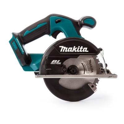 makita dcs551rtj akkus fémvágó körfűrész 150mm (lxt) 18v/2x5.0ah akkukkal, töltővel, makpac kofferrel