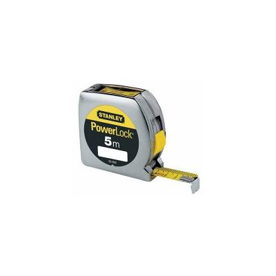 stanley powerlock mérőszalag felülolvasható 5m×19mm (0-33-932)