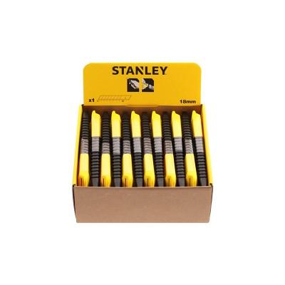 stanley műanyagházas tördelhető pengés kés 18mm (1-10-151)