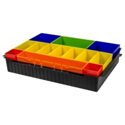makpac színes tartozék tároló betét (makita p-83652)