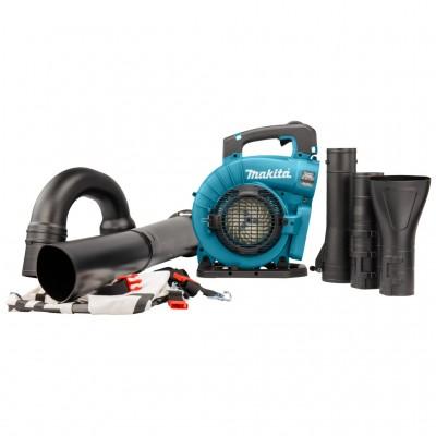 makita dub363pt2v akkus fúvó-szívógép 2x18v (lxt) (bl motor) 2x18v/2x5.0ah akkukkal, töltővel