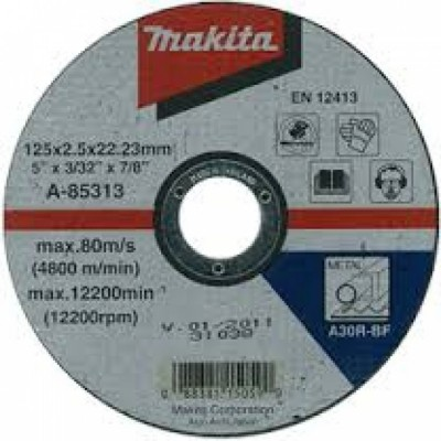 vágókorong acél 125x2,5mm (makita a-85313)