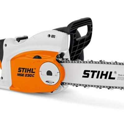 stihl mse 230 c-bq elektromos láncfűrész