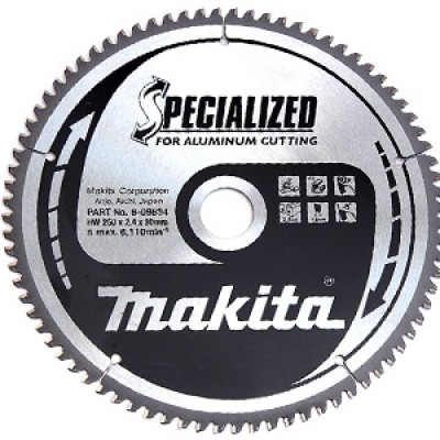körfűrészlap specialized alu 250/30mm z80 (makita b-09634)