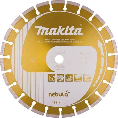 gyémánttárcsa nebula szegmentált 400mm (makita b-54069)