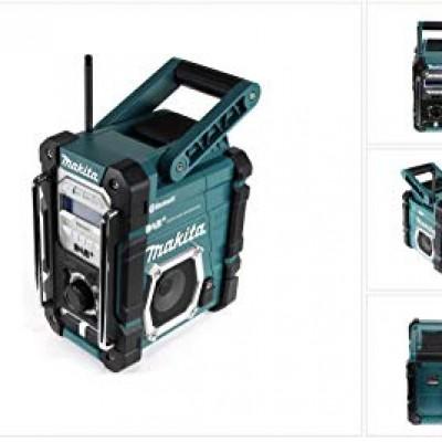 makita dmr112 akkus és hálózati rádió (bluetooth) (lxt) (cxt) (dab+) akku és töltő nélkül