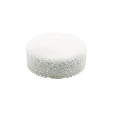 polírozó szivacs 150 mm fehér, sűrű anyagú (makita p-21727)