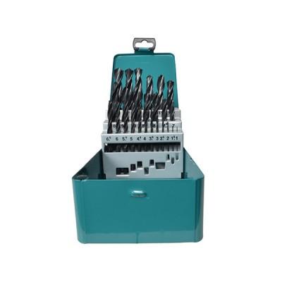 hss-r fémfúrókészlet 25db 1-13mm (makita d-54097)