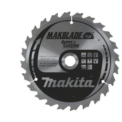 körfűrészlap makblade plus fához 260/30mm z80 (makita b-08779)