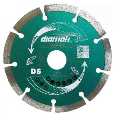 125mm gyémánttárcsa diamak szegmentált (makita d-61139)